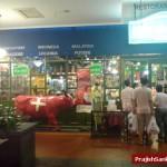 Marche Restaurant entrance with staffs handing over Marche Passport