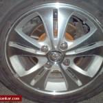 Proton Waja old 16 inch rim tyre