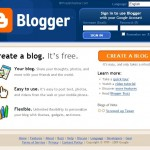 Blogger create new blog step 1