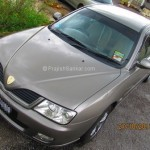Front angle view of Proton Waja 1.6(A) EV (Enhanced Version)